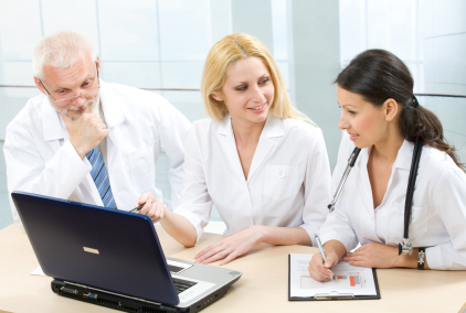 Doctors with Electronic Medical Record