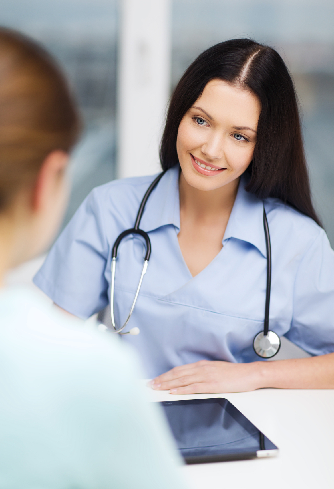 EHR_Software_-_Happy_Patient_Doctor_with_Tablet_PC