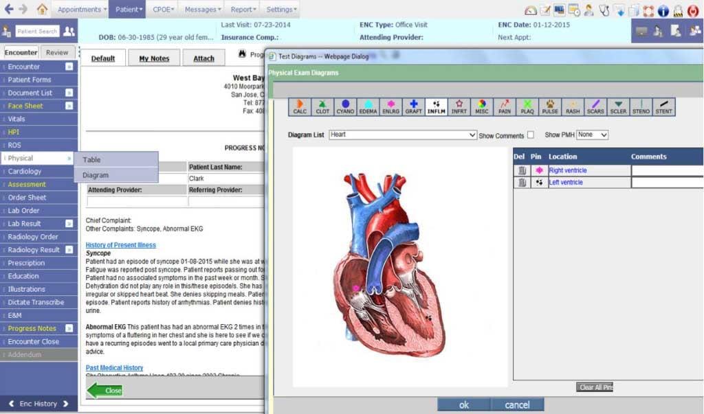 cardiology-ehr