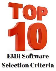EMR_Software_Selection_Criteria